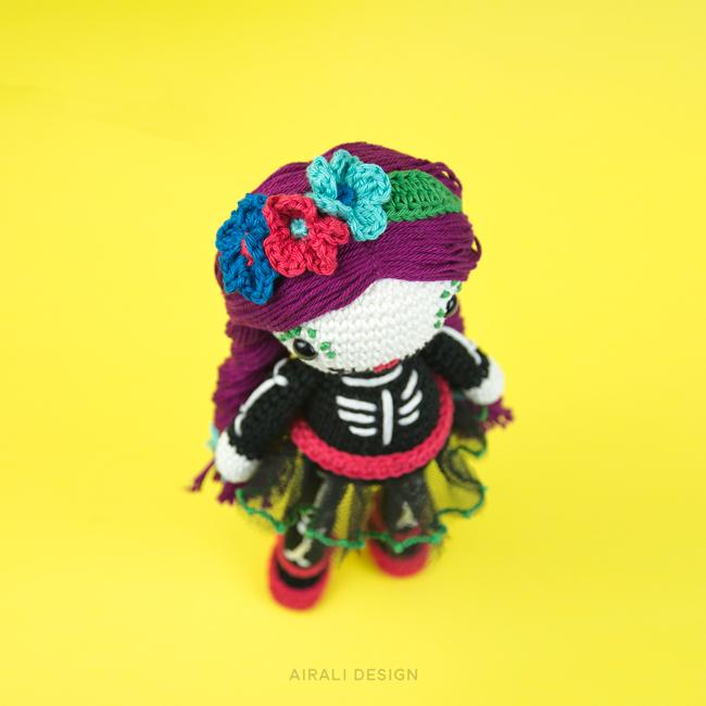 Skull Doll Amigurumi - Airali Design