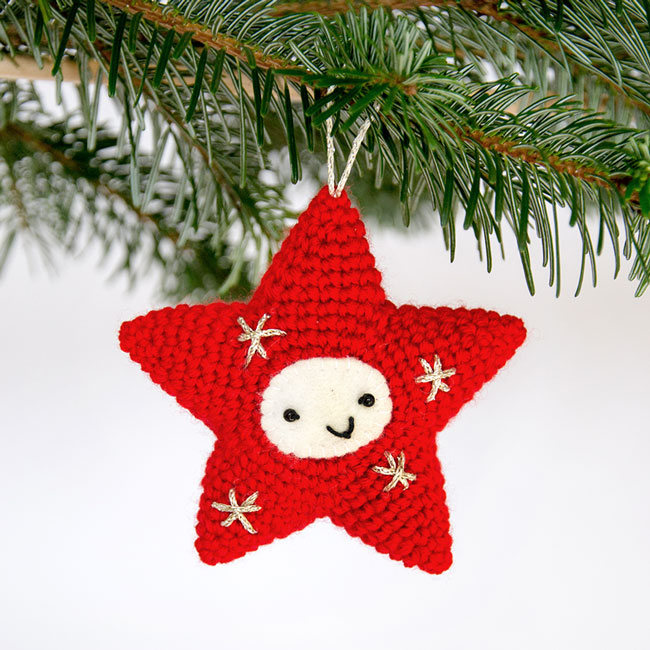 Amigurumi Christmas Star - Crochet Pattern by Airali design