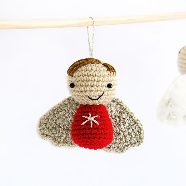 Amigurumi Little Christmas Angel - Crochet Pattern by Airali design