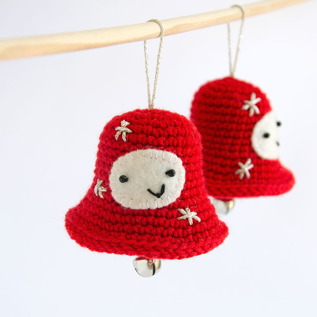 Amigurumi Christmas Jingle Bell - Crochet Pattern by Airali design