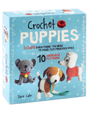 Crochet Puppies by Ilaria Caliri - Amigurumi patterns