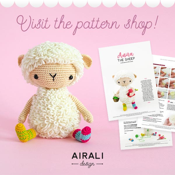Visit the amigurumi pattern shop - Airali design