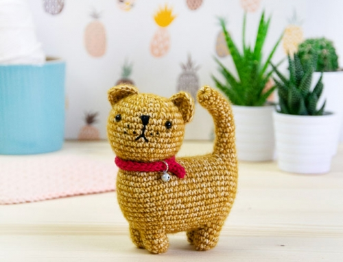 Ugo the amigurumi Cat
