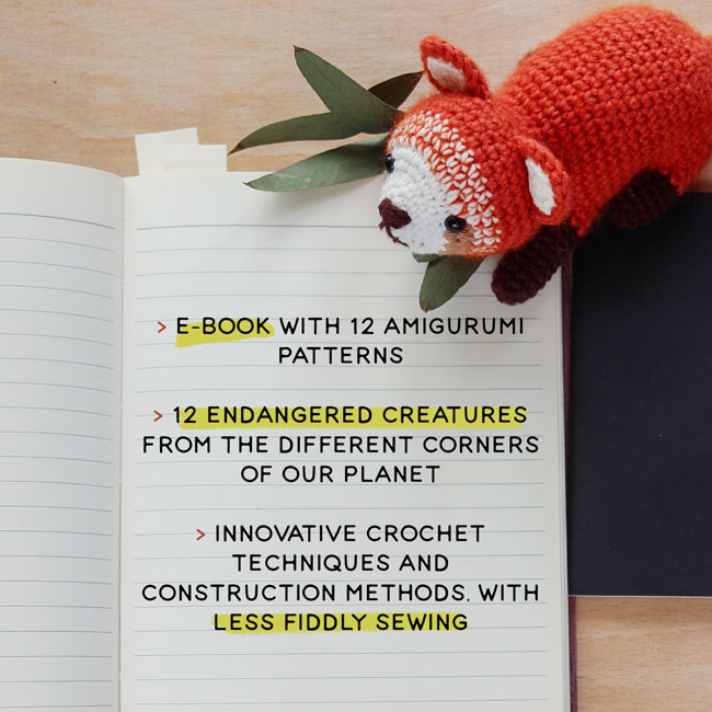 Amigurumi Wildlife - crochet patterns ebook by Airali design and Irene Strange