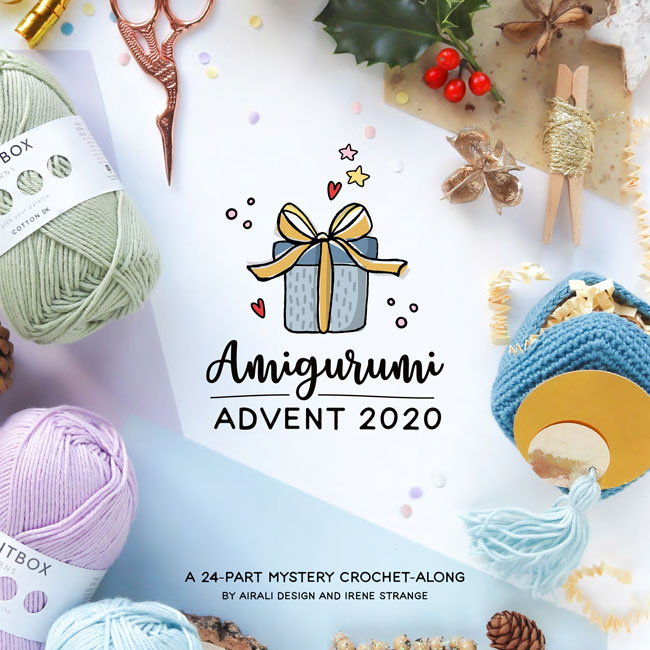 Amigurumi Advent 2020 MCAL by Airali design and Irene Strange