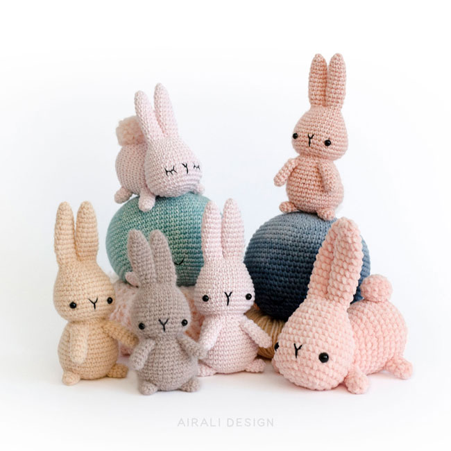 Amigurumi Moon Rabbit | PDF Crochet Pattern