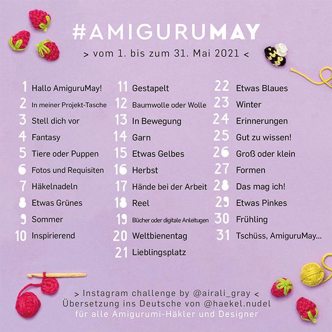 AmiguruMay 2021 Instagram Challenge German