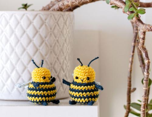 BB the amigurumi bee
